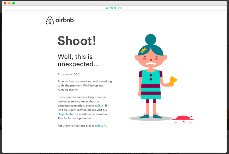 UX Writing for 404 page
