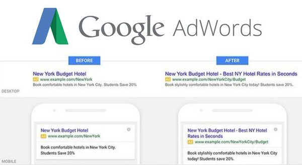 UX Writing Example for Google Ads